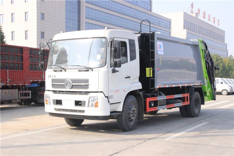 东风天锦 12方压缩垃圾车